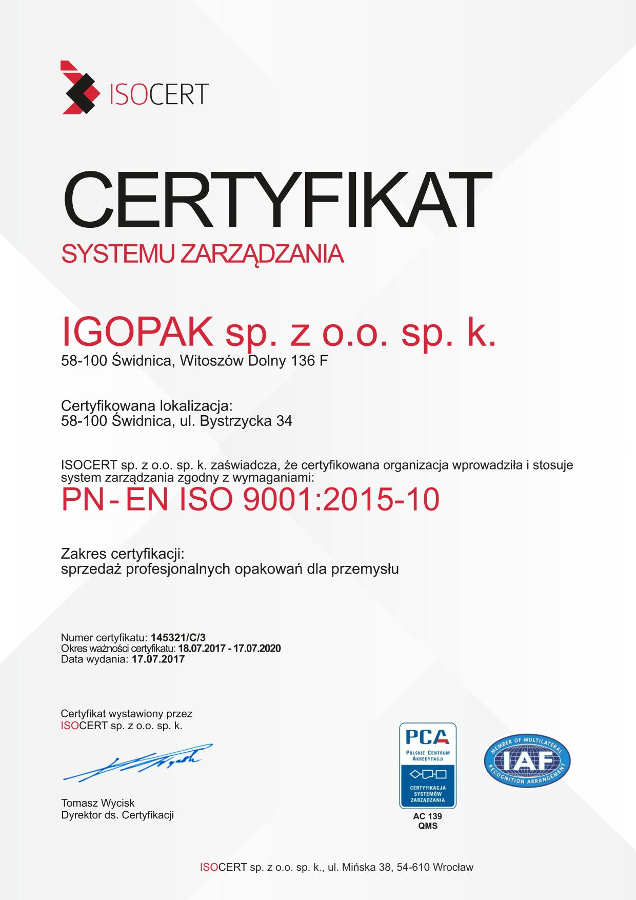 ISO CERTYFIKAT igopak_01
